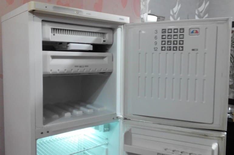 Холодильник стинол не морозит верхняя камера