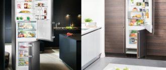 Чем отличается встраиваемый холодильник от обычного