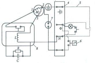Как подключить без конденсатора и реле