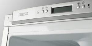 Почему на холодильнике Atlant мигает буква H