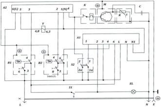 Электрические схемы однокомпрессорных и двухкомпрессорных двухкамерных холодильников Atlant