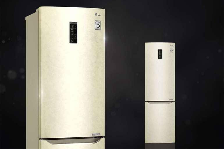 Где собирают двухкамерный холодильник LG с технологией No Frost