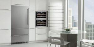 Как установить встраиваемый холодильник: схема монтажа, чертежи и размеры