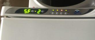 Как устранить ошибку F5 холодильника Atlant