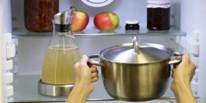 Почему в холодильник нельзя ставить горячие продукты и кастрюли: до какой температуры остудить