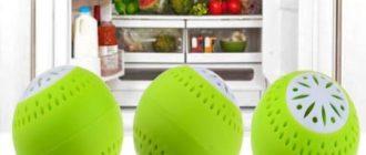Особенности поглотителей запаха для холодильника