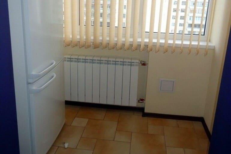 Можно ли ставить холодильник рядом с батареей отопления