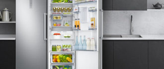 Большой холодильник для дома